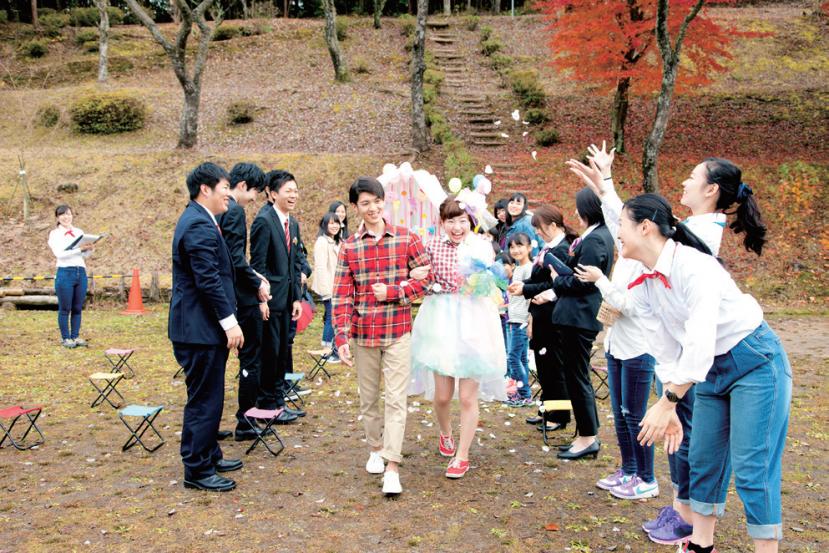 野外WEDDING