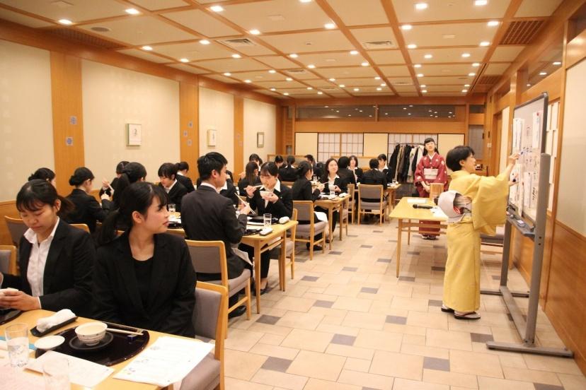 日本料理テーブルマナー研修